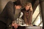Hugo e Isabella con el automata La invención deHugo