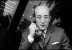 Merkin Muffley (Peter Sellers) en '¿Teléfono rojo? Volamos hacia Moscú'(1964)