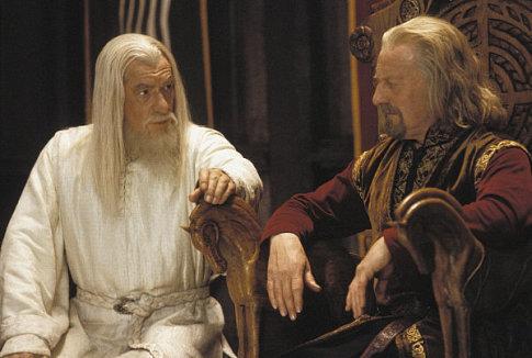 Gandalf y Theoden | El Cadillac Negro
