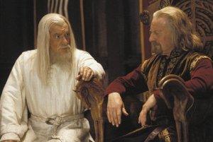 Gandalf y Theoden