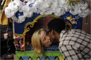 Dos días en Nueva York beso