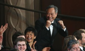 Ang Lee wins best director at the Oscars
