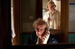 Timothy Cavendish (Jim Broadbent) & Nurse Noakes (HugoWeaving)