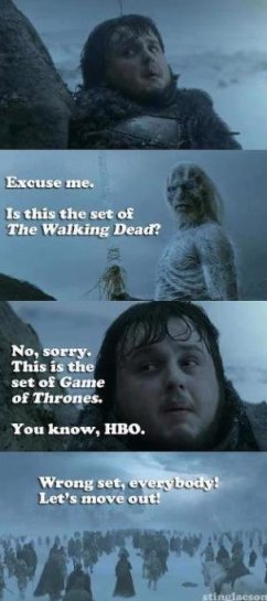 Game Of Thrones Meets The Walking Dead