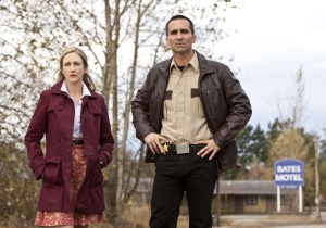 Bates Motel - Norman & Sheriff Romero