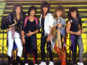 Bon Jovi Then
