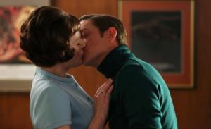 Mad Men_Peggy and Ted Chaugh kiss