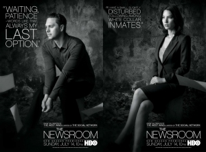 The Newsroom Season 2 - Don & Sloan