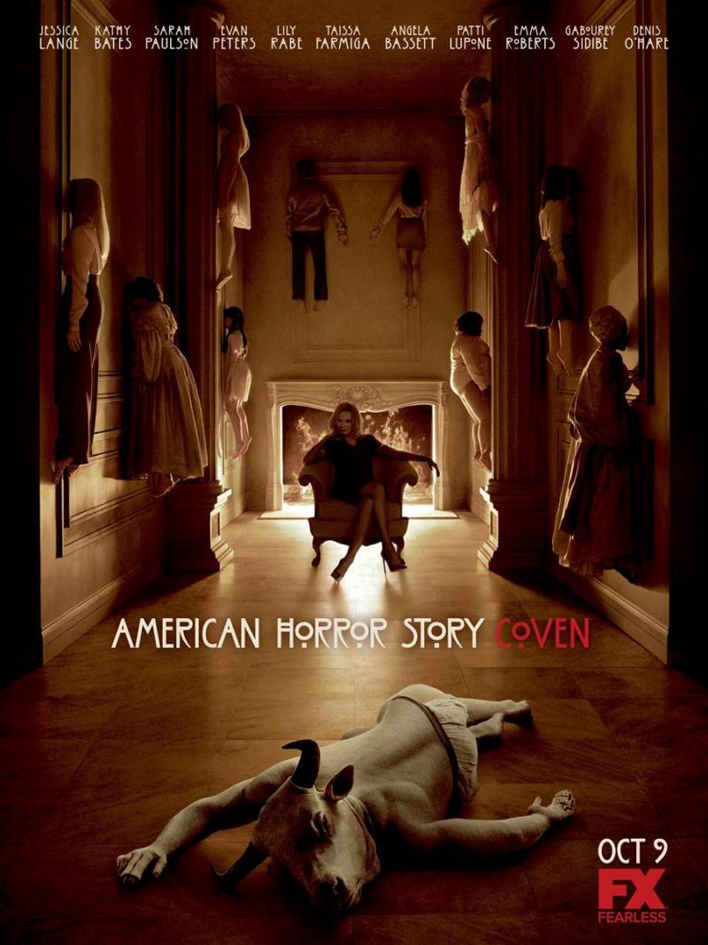 Resultado de imagem para american horror story Coven posters