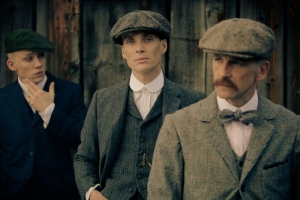 Peaky Blinders - Joe Cole, Cillian Murphy & Paul Anderson