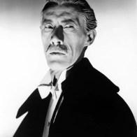 """John Carradine en """"La zíngara y los monstruos"""" (1944)"""