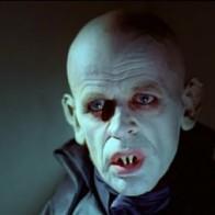 """Klaus Kinski en """"Nosferatu, vampiro de la noche"""" (1979)"""
