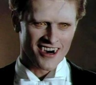 "Geordie Johnson en ""Dracula the series"" (1990)"