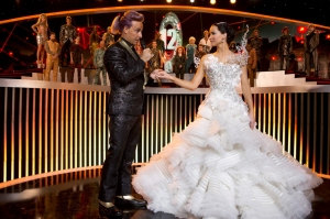 The Hunger Games: Catching Fire - Caesar & Katniss