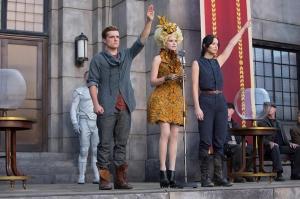 The Hunger Games: Catching Fire - Peeta, Effie & Katniss