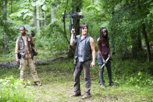 The Walking Dead Season 4 - Bob, Daryl & Michonne