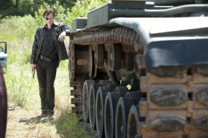 The Walking Dead Season 4 - The Governor & The Tank