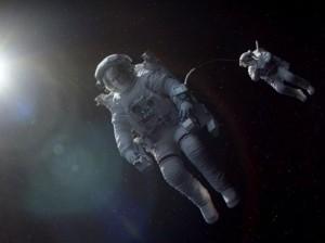 Gravity Sandra Bullock George Clooney