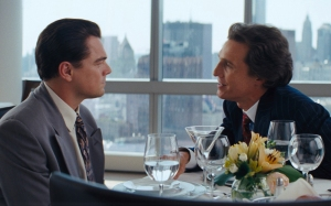 Matthew McConaughey en The Wolf of Wall Street