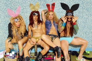 Steel Panther conejos