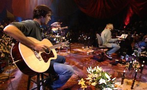 Nirvana Unplugged in New York Kris Novoselic Kurt Cobain