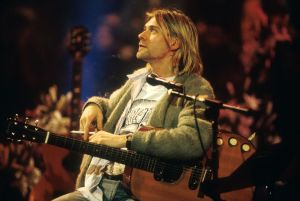 Nirvana Unplugged in New York Kurt Cobain