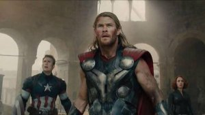 Los Vengadores-Thor-Capitán América-Viuda Negra