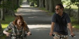 Irrational Man Joaquin Phoenix Emma Stone cycling
