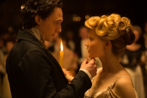 La cumbre escarlata Tom Hiddlestone Mia Wasikowska