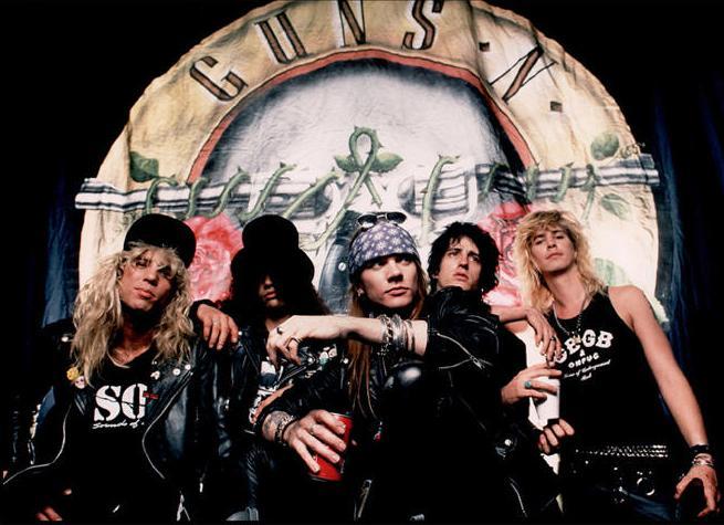 [Articulo] Auge, caída y reunión de Guns N'Roses: Las 20 fechas clave. Guns-and-roses