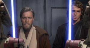 La venganza de los Sith Obi Wan Anakin