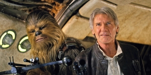 Star Wars The Force Awakens - Han & Chewie