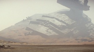 Star Wars The Force Awakens - Star Destroyer