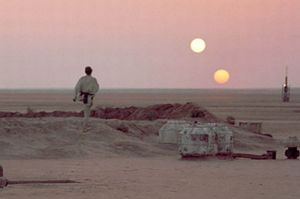 Star Wars_Luke_Tatooine_Two suns