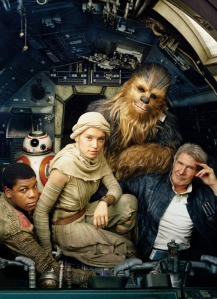 Star Wars The Force Awakens – Family Portrait