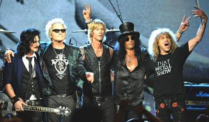 Guns and Roses rock and roll hall of fame