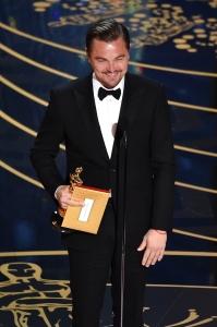Oscar 2016 Leonardo DiCaprio