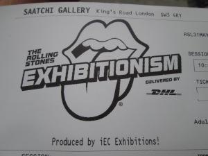 Londres Exhibionatism ticket