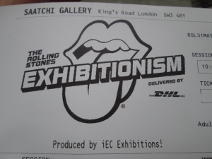 Londres Exhibionatism ticket