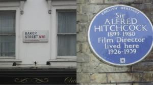 Londres Sherlock Hitchcock