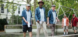 Un golpe con estilo Michael Caine Morgan Freeman Alan Arkin