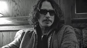 Chris cornell black and white